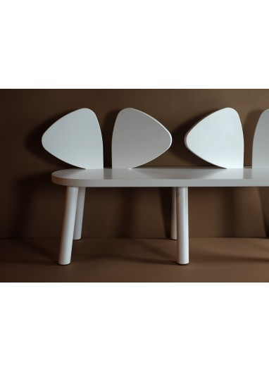 Mouse Bench White Nofred