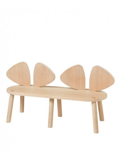 Mouse Bench Oak Nofred