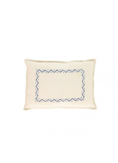 Zig Zag Cushion Camomile London