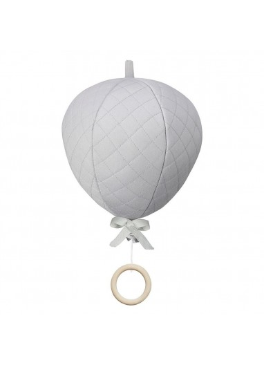 Hot-Air Balloon Grey Muscial Mobile CamCam Copenhagen