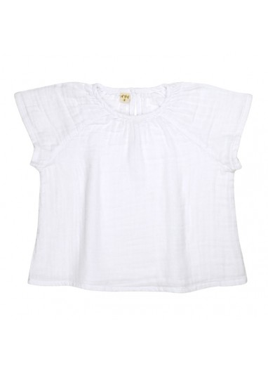 Clara Top Baby - Kid White Numero 74