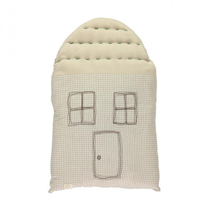 Small House Cushion Camomile London