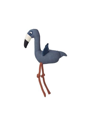 Dextor Knit Teddy Flamingo Blue Wave Liewood