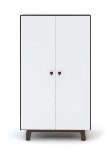 Merlin Wardrobe White/Birch OeufNYc