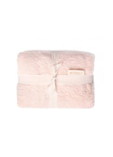 Waterproof changing mat & cover So Cute pink Nobodinoz