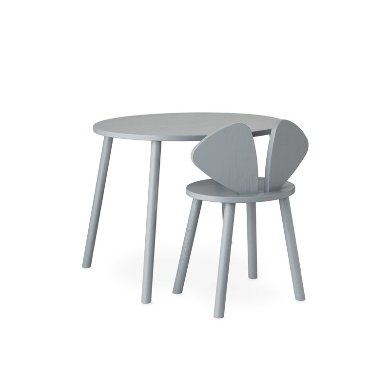 Mesa Mouse School Gris Nofred