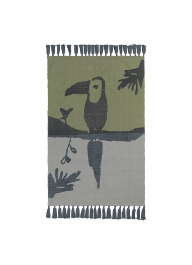 Toucan Green Rug Nofred