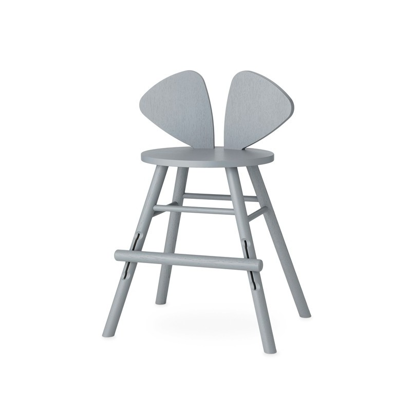 Silla Junior Mouse Gris Nofred