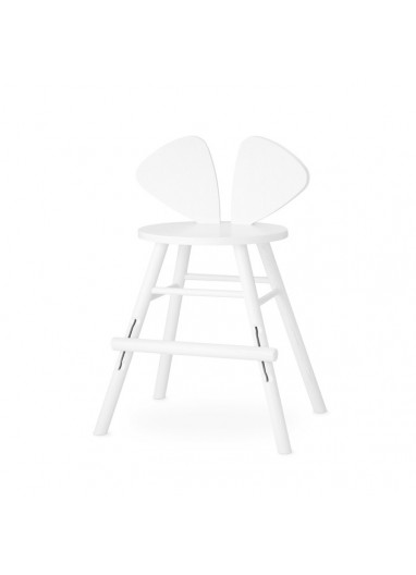 Mouse Chair Junior White Nofred