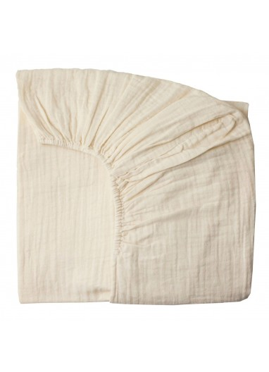 Fitted Sheet plain Natural 70x140cm Numero74