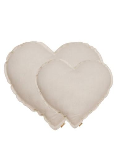Cojin Corazón Natural Medium Numero 74