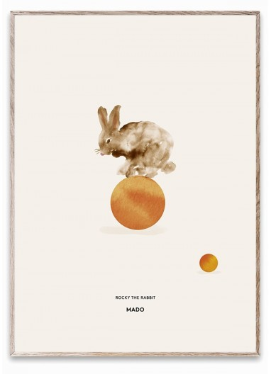 Poster ROCKY THE RABBIT by MADO