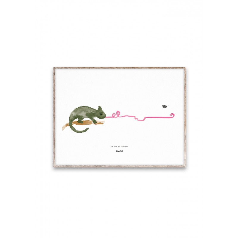 Poster CHARLIE THE CAMELEON by MADO