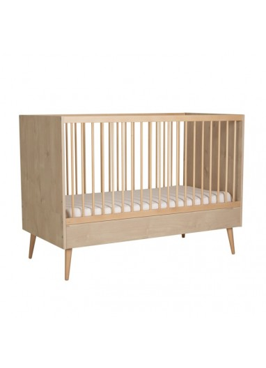 Oak Cocoon Convertible Cot by Quax