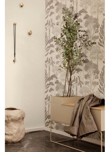 Papel pintado Trees Off White Ferm Living