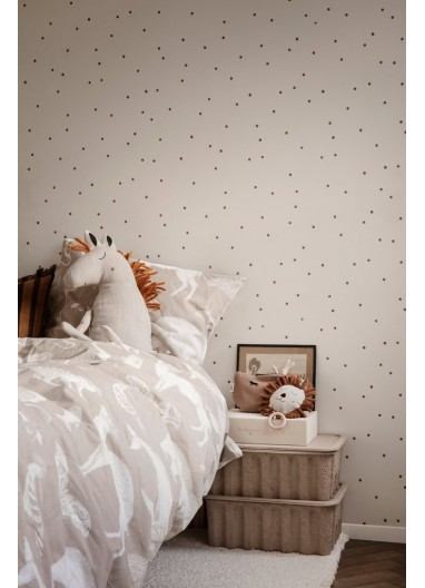Dot Wallpaper White wallpaper Ferm Living