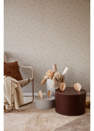 Papel pintado Dot Dusty Rose Ferm Living