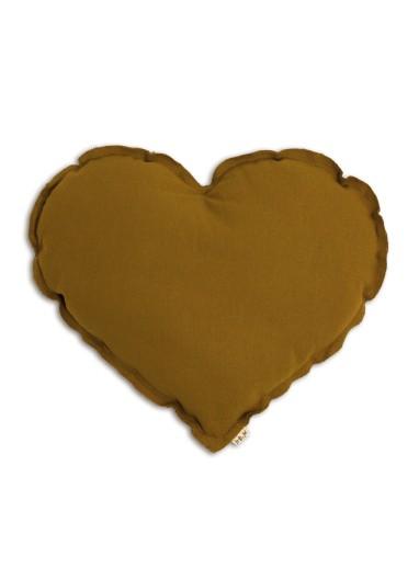 Heart Cushion Gold SMALL Numero74