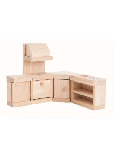 Classic wood kitchen by PlanToys
