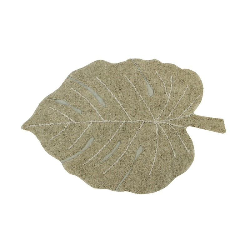 Alfombra Lavable Monstera Leaf Lorena Canals