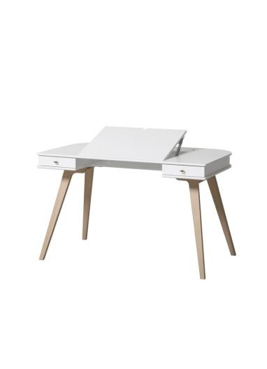Desk 72 cm Wood Oliver Furniture