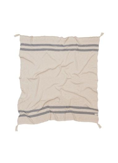 Stripes Grey Blanket Lorena Canals
