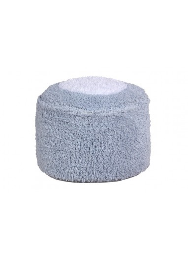 Puff Marshmallow Square Pearl Grey Lorena Canals