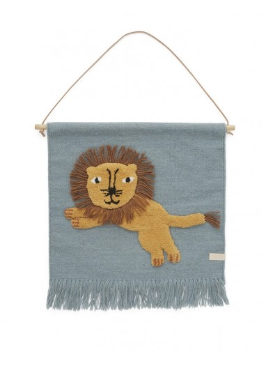 Tapiz decorativo Jumping Lion OYOY