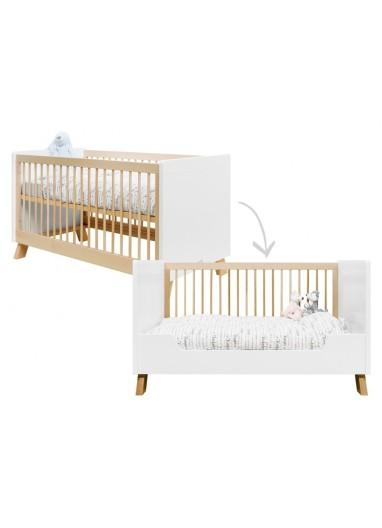 Convertible crib 70x140 Indy Bopita