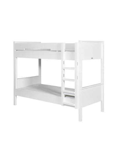 Combilfex Bunk Bed Vertical stairs White Bopita