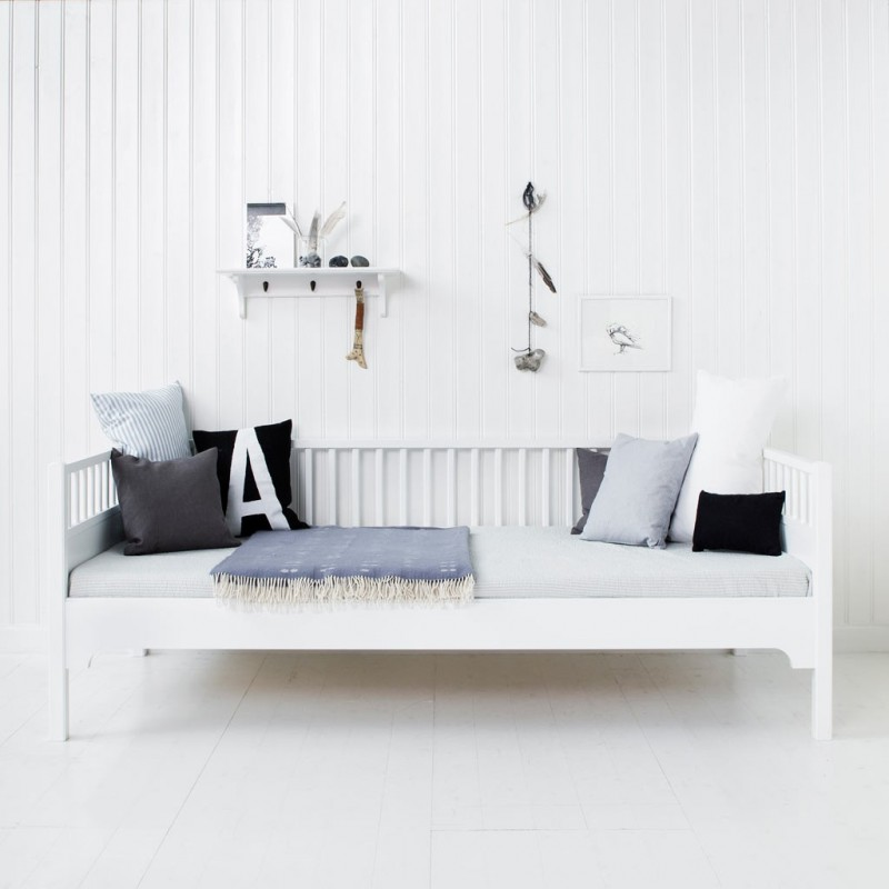 Cama blanca de día Seaside OLIVER FURNITURE