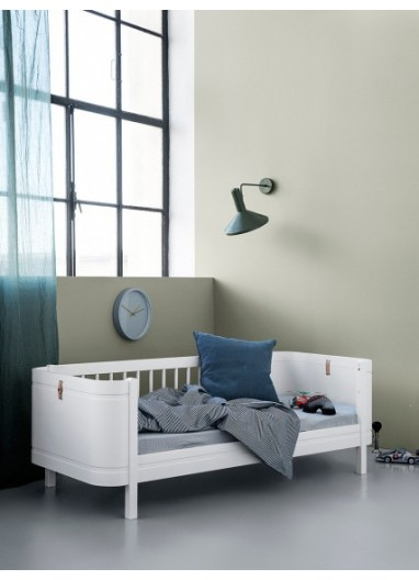 Cama junior Wood Mini+ Blanca OLIVER FURNITURE