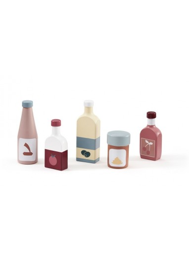 Bottle set 5pcs Kid's Concept