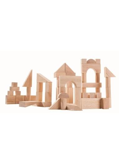 Bloques de construcción de madera Plantoys