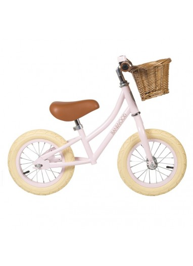 Bicicleta sin pedales First Go Rosa Banwood