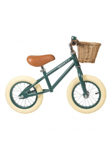 Bicicleta sin pedales First Go Darkgreen Banwood