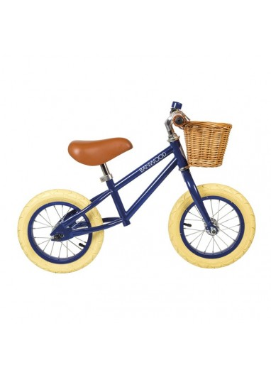 Bicicleta sin pedales First Go Navyblue Banwood