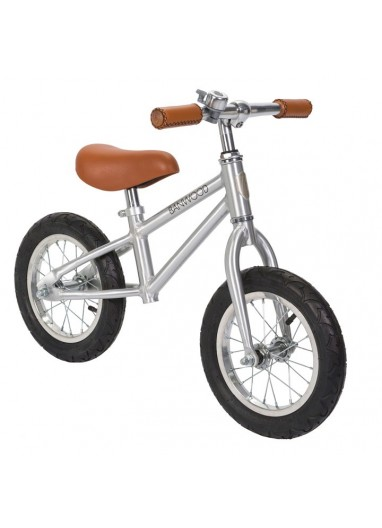 Bicicleta sin pedales First Go Chrome Banwood