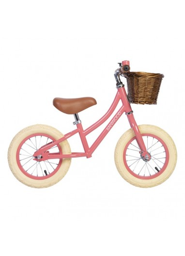 Bicicleta sin pedales First Go Coral Banwood