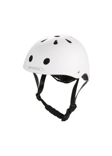 Helmet White Banwood