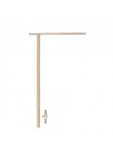 Wood holder for mobile Oliver FURNITURE