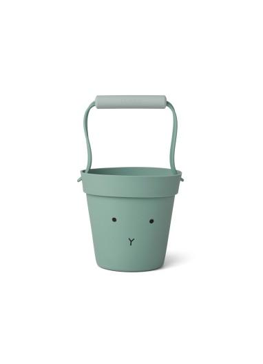 Linda beach bucket Dino dove blue mix Liewood