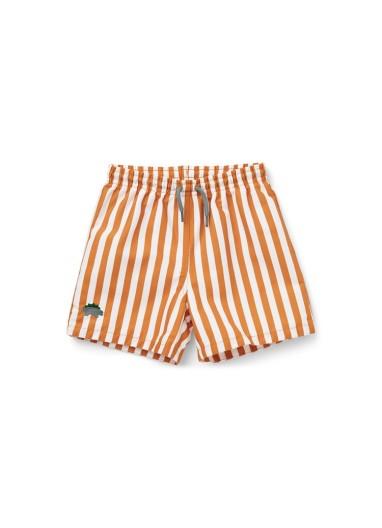 Duke Swim pants stripe mustard Liewood
