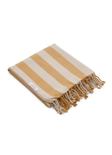 Toalla Mona Mustard Stripes Liewood