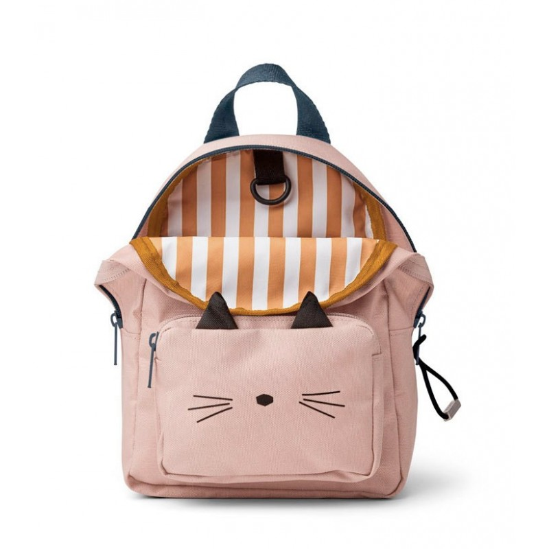Mini mochila Saxo Cat Rose Liewood