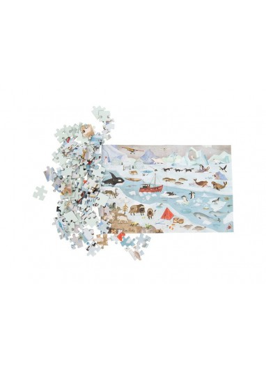 Ice floe explorer puzzle 96p. Moulin roty