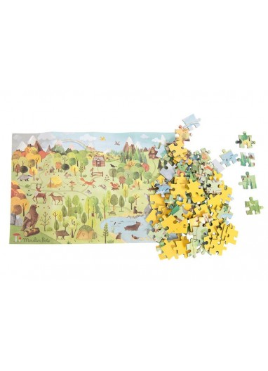 Forest Explorer Puzzle 96p. Moulin roty