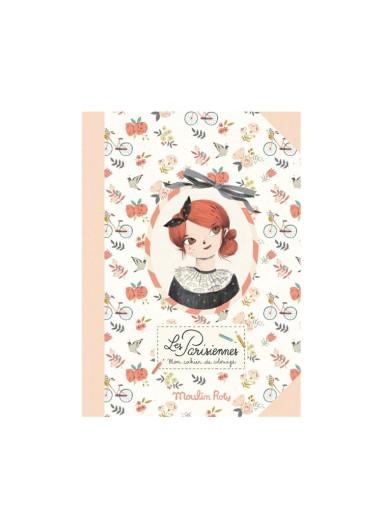 Las Parisinas coloring book Moulin Roty