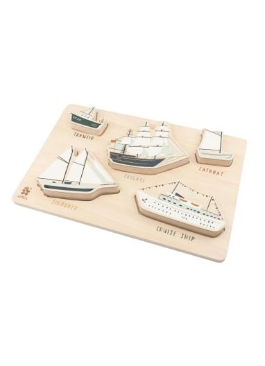 Seven Seas Puzzle Sebra