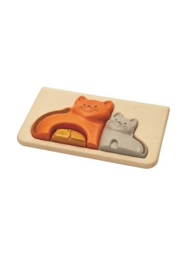 Cats Puzzle PlanToys